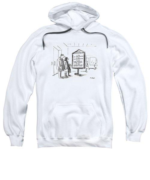 New Yorker January 10th, 1983 Sweatshirt