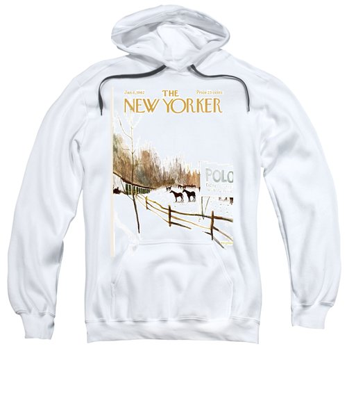 New Yorker January 6th, 1962 Sweatshirt