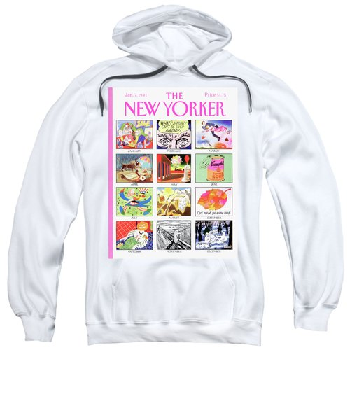 New Yorker January 7th, 1991 Sweatshirt