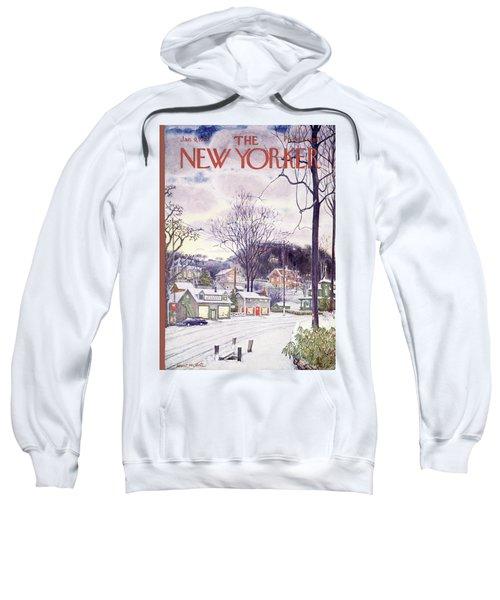New Yorker January 9th, 1965 Sweatshirt