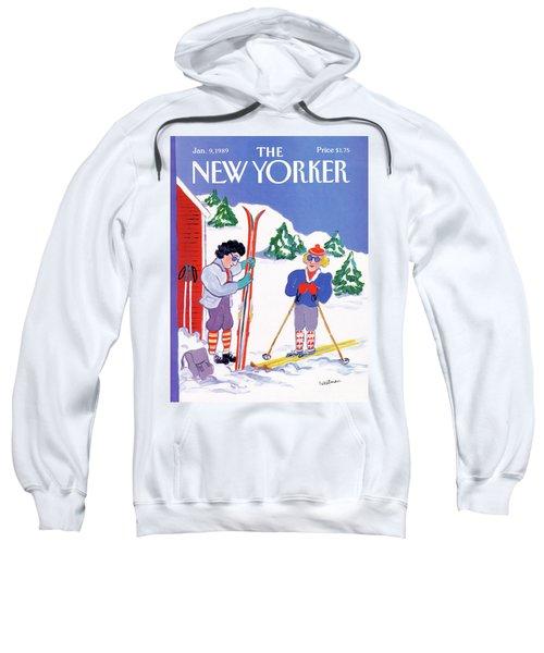 New Yorker January 9th, 1989 Sweatshirt
