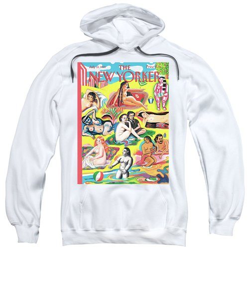New Yorker July 19th, 1993 Sweatshirt