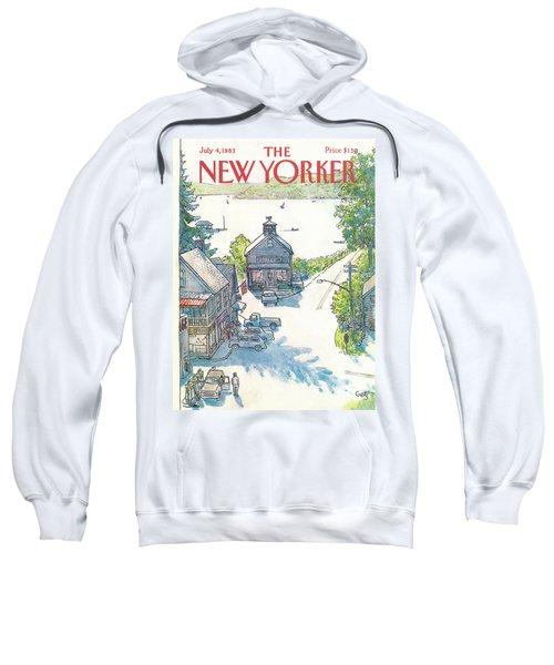 New Yorker July 4th, 1983 Sweatshirt