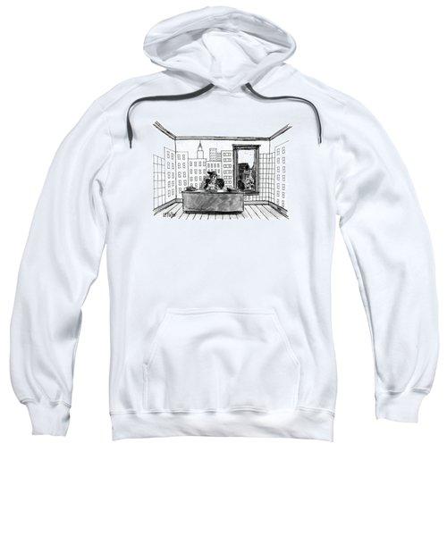 New Yorker July 4th, 1988 Sweatshirt