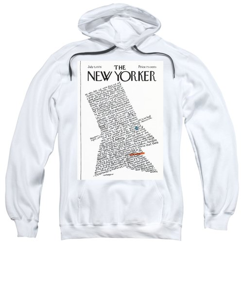 New Yorker July 5th, 1976 Sweatshirt