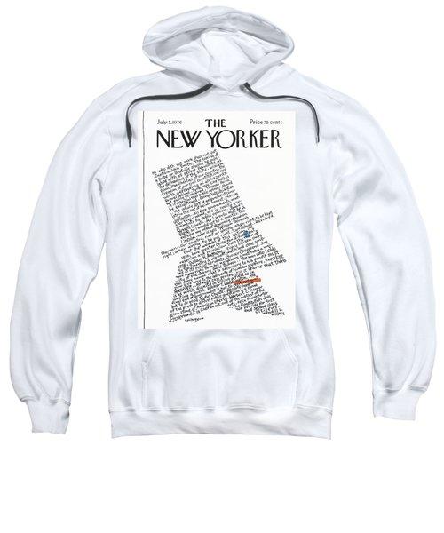 New Yorker July 5th, 1976 Sweatshirt