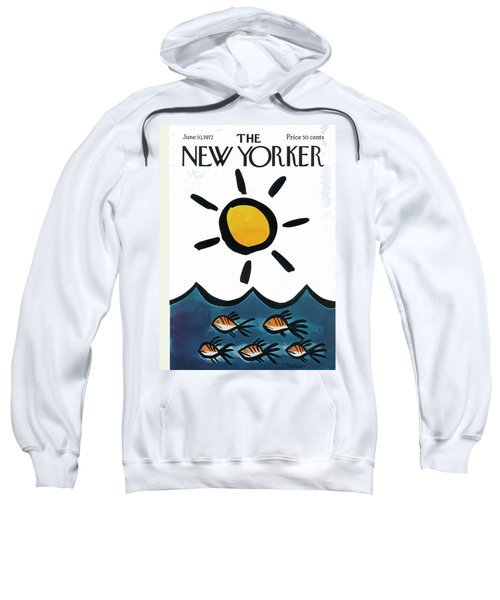 New Yorker June 10th, 1972 Sweatshirt