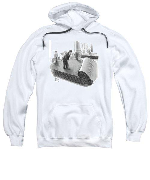 New Yorker June 25th, 1955 Sweatshirt