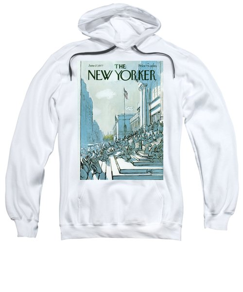 New Yorker June 27th, 1977 Sweatshirt