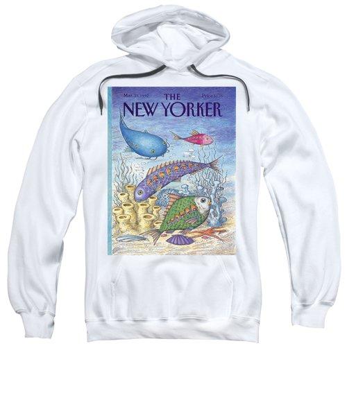 New Yorker March 23rd, 1992 Sweatshirt