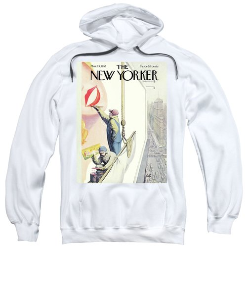 New Yorker March 29th, 1952 Sweatshirt
