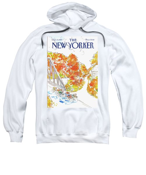 New Yorker October 17th, 1983 Sweatshirt