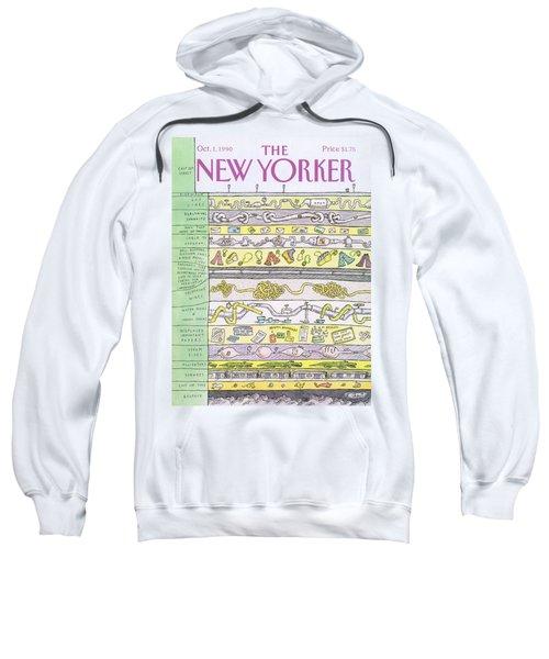 New Yorker October 1st, 1990 Sweatshirt