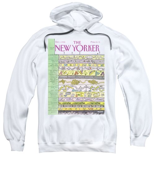 New Yorker October 1st, 1990 Sweatshirt