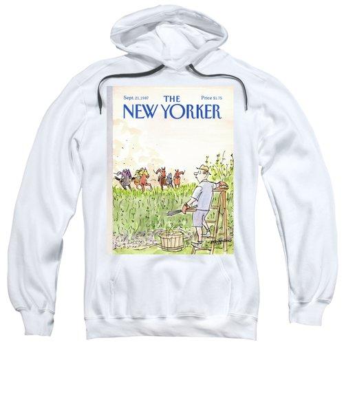 New Yorker September 21st, 1987 Sweatshirt