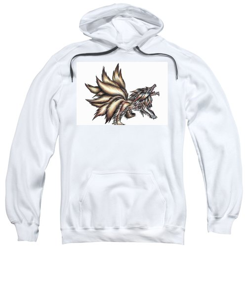 Nine Tails Wolf Demon Sweatshirt