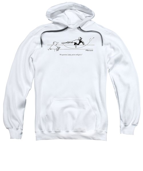 No Question Sweatshirt