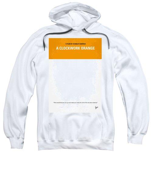 No002 My A Clockwork Orange Minimal Movie Poster Sweatshirt