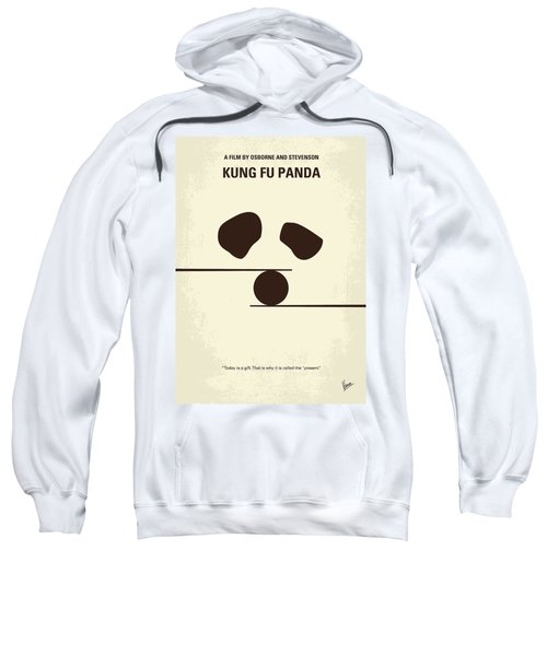 No227 My Kung Fu Panda Minimal Movie Poster Sweatshirt