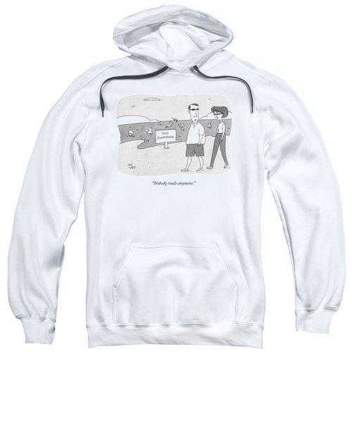Nobody Reads Anymore Sweatshirt