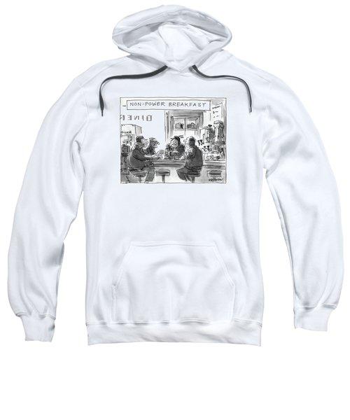 Non-power Breakfast Sweatshirt