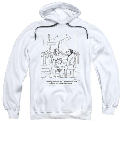 Nothing Personal Sweatshirt