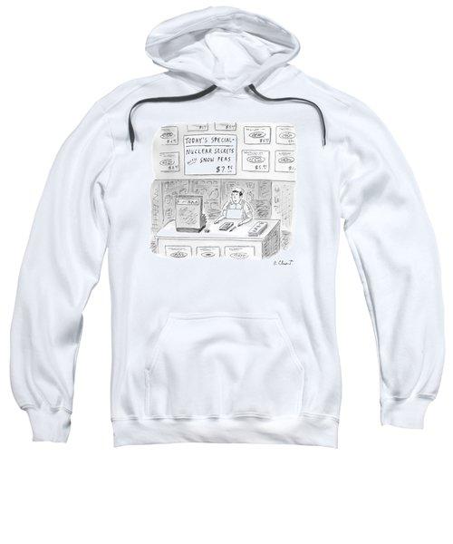 'nuclear Secrets With Snow Peas' Sweatshirt