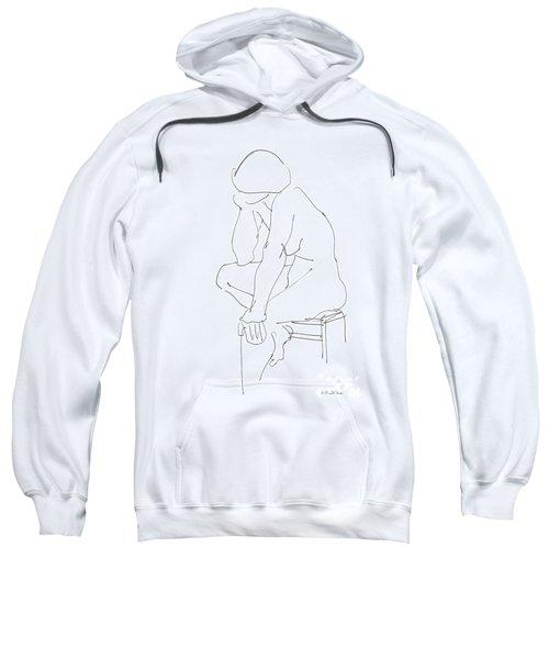 Nude Female Drawings 12 Sweatshirt