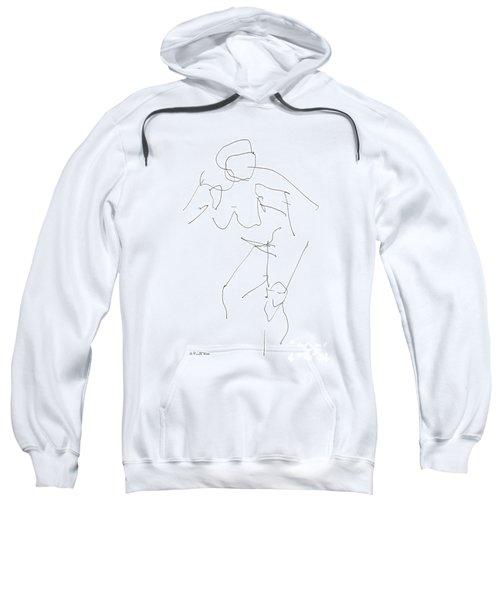 Nude Female Drawings 14 Sweatshirt