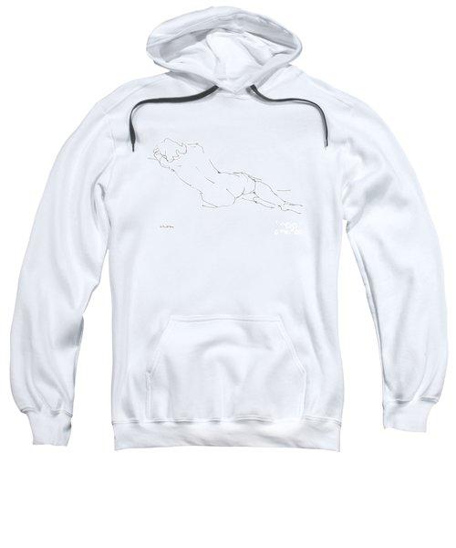 Nude Female Drawings 9 Sweatshirt