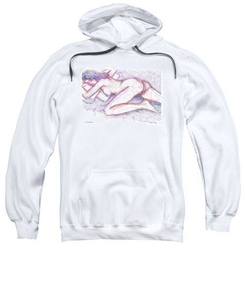 Nude Female Sketches 5 Sweatshirt