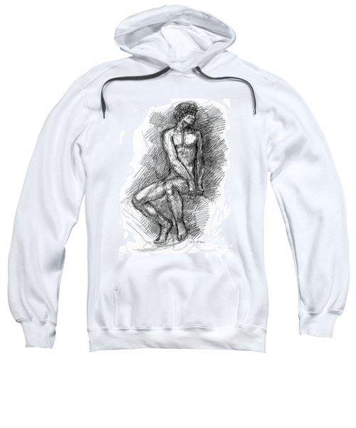 Nude Male Sketches 1 Sweatshirt