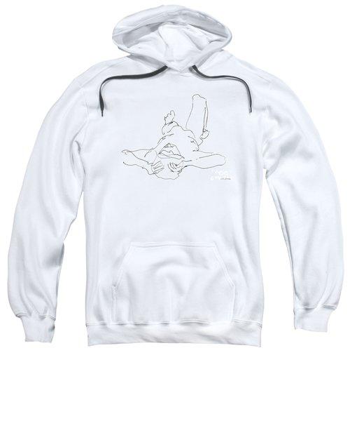 Nude_male_drawings-22 Sweatshirt