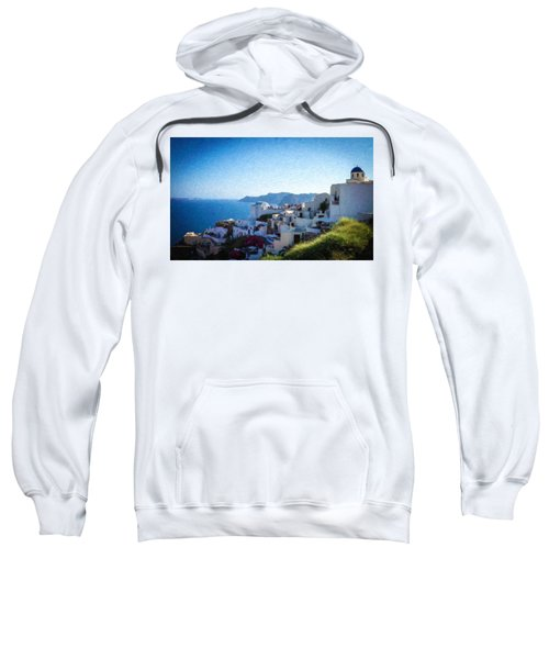 Oia Santorini Grk4332 Sweatshirt