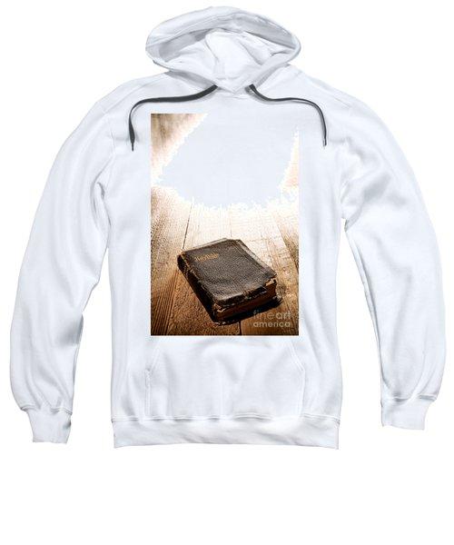 Old Bible In Divine Light Sweatshirt