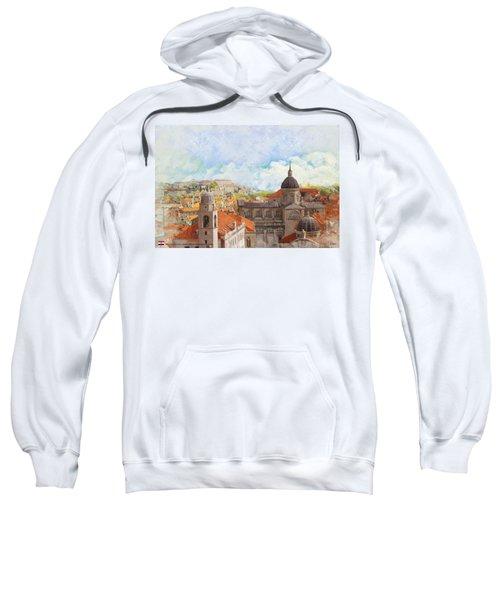 Old City Of Dubrovnik Sweatshirt
