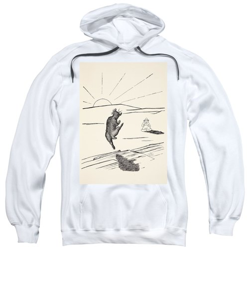 Old Man Kangaroo Sweatshirt by Rudyard Kipling