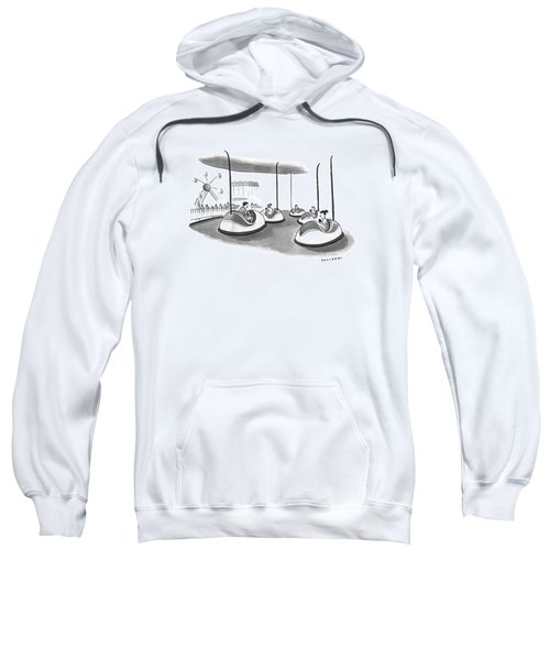 On Bumper Cars Sweatshirt