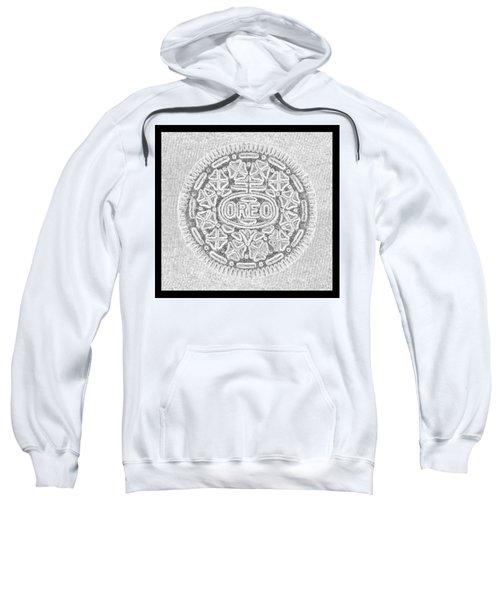 Oreo In Grey Sweatshirt