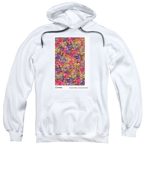 Organic Brights, A Digital Collage By Sweatshirt