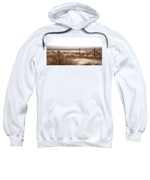 Out West Along The Road Sweatshirt