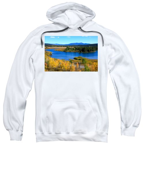 Oxbow Bend, Grand Teton National Park Sweatshirt