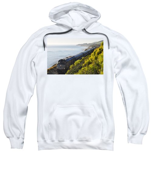 Pacific Surfliner Along The Central Coast Sweatshirt