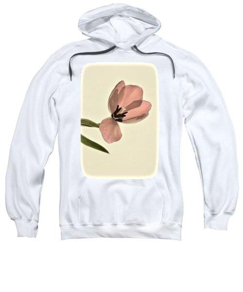 Pale Pink Tulip Sweatshirt