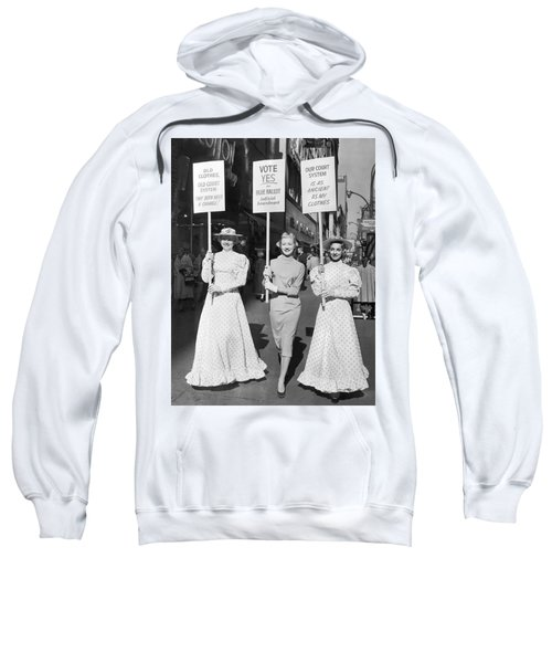 Parade For Court Reform Sweatshirt