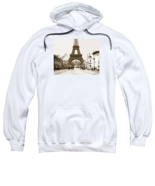 Paris Exposition Eiffel Tower Paris France 1900  Historical Photos Sweatshirt