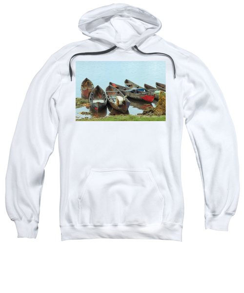 Parking Boats Sweatshirt