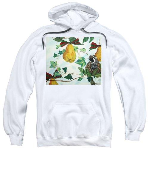 Partridge And  Pears  Sweatshirt