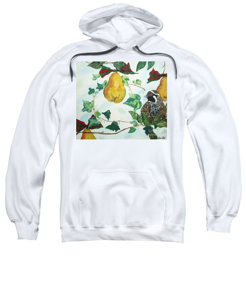 Partridge And  Pears  Sweatshirt