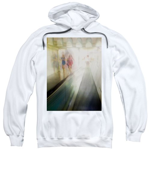 Sweatshirt featuring the photograph Party Girls by Alex Lapidus